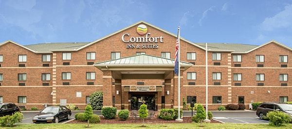 Comfort Inn & Suites, Lawrenceburg, Indiana.