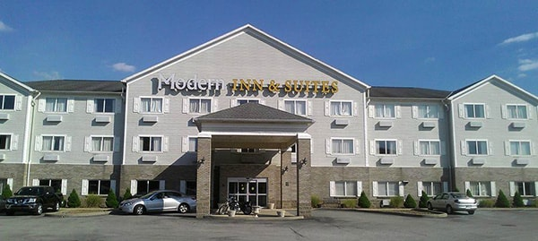 Modern Inn & Suites, Lawrenceburg, Indiana.